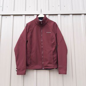 Columbia Burgundy Interchange Jacket